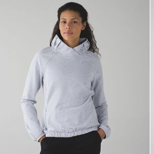 Lululemon After All Pullover Heathered Cool Breeze